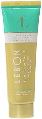 Lebon Cap Ferrat Moud (Fresh Mint) Organic Toothpaste