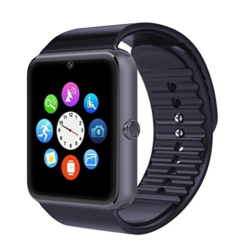 GT08 Montre connectée Bluetooth et Gsm pour Smartphone Android (Noir): Amazon.fr: High-tech