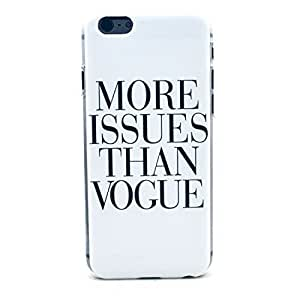 Caitin More Issues Than Vogue Cell Phone Cases Cover for iPhone 5c (Laster Technology)
