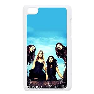 CTSLR TV Show Pretty Little Liars Hard Case Cover Skin for iPod Touch 4 4G 4th Generation- 1 Pack - Black/White - 2- Perfect Gift for Christmas Kimberly Kurzendoerfer