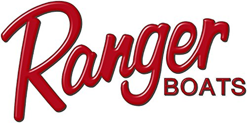 """Ranger Boats RED Logo Decal 6x12"""""""