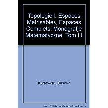 Topologie I