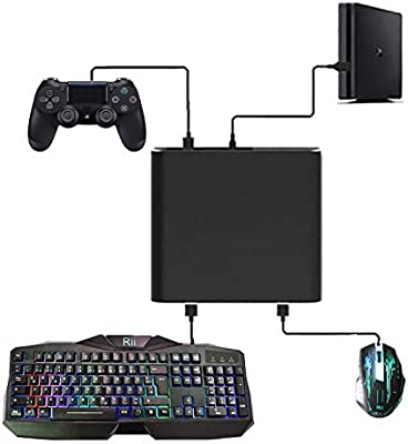 J&TOP - Adaptador de Teclado y ratón para Playstation 4 y Nintendo Switch/Xbox One: Amazon.es: Electrónica