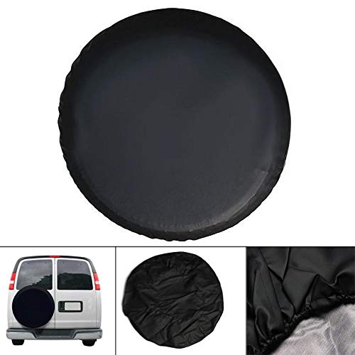 LoLa Ling 14-17 Inch Universal Spare Tire Cover PVC Auto Tyre Covers for Car Wheel Accessories DXY88 by LoLa Ling (Image #2)
