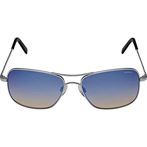 argent Argenté soleil de bleu Lunettes Medium Randolph Homme g6Pq8nv