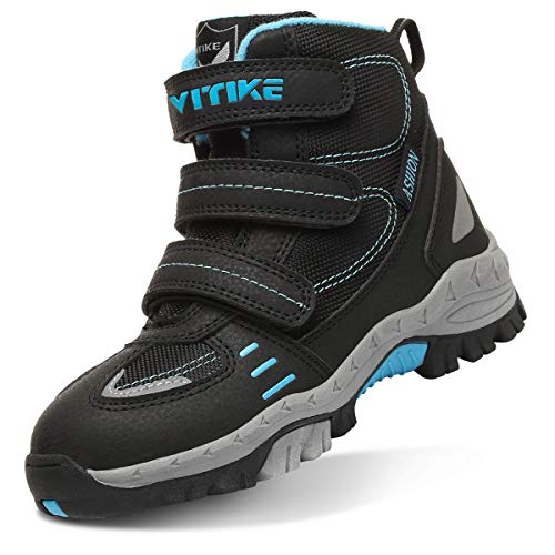 VITIKE Toddler//Little//Big Kids Mid Waterproof Hiking Boots High Top Hiking Shoes