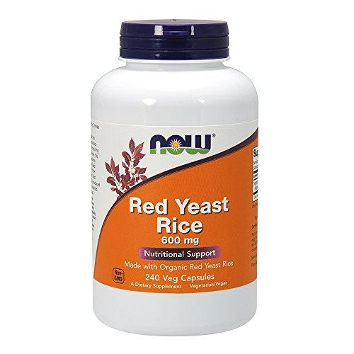 Red Yeast Rice 600 mg 240 VegiCaps