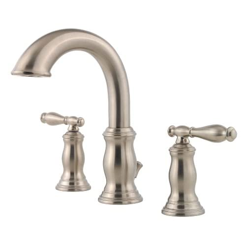 "Pfister Hanover 2-Handle 8"" Widespread Bathroom Faucet, Brushed Nickel cheap"