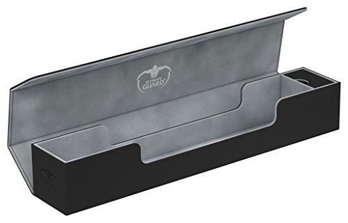 Ultimate Guard UGD010650Flip´N´Tray Boîte de Rangement en XenoSkin avec Plateau Rabattable pour 2 Jeux de Cartes Violet pour 160Cartes Taille Standard