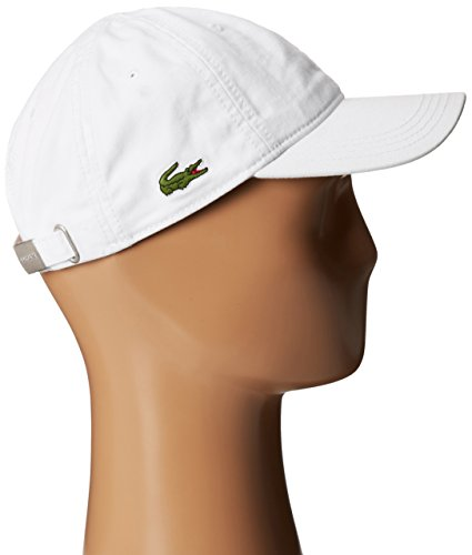 3132175a1fb2d Aeropost.com Bahamas - Lacoste Mens Cotton Gabardine Cap with Signature  Green Croc