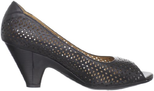Blondo Womens Mabel Peep-Toe Pump Black 3URXdF2Zdd