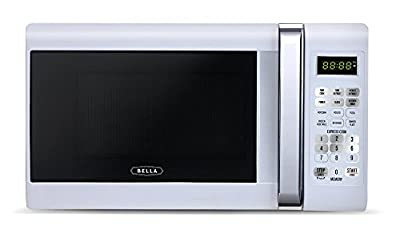 Bella Countertop Microwave Oven with Chrome Detail