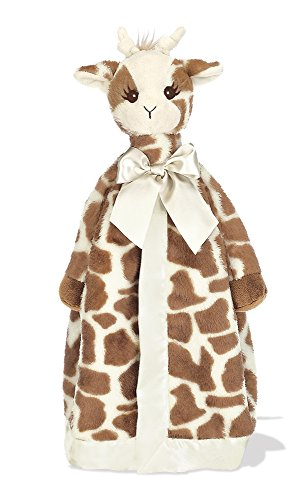 (Bearington Baby Patches Giraffe Snuggler, Plush Security Blanket, Lovey 15