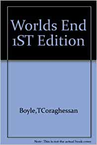 an analysis of worlds end a book by t coraghessan boyle Tc boyle -- world's end - about t coraghessan boyle resource tc boyle-- world's end summaries of the chapters of the book analysis the characters a.