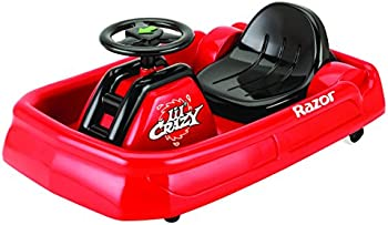 Razor Jr. Lil' Crazy Cart 6 Volt Powered Ride On