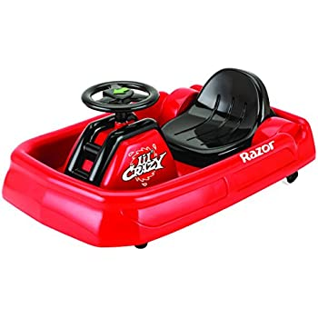 Razor Jr Lil Crazy Ride On, Red