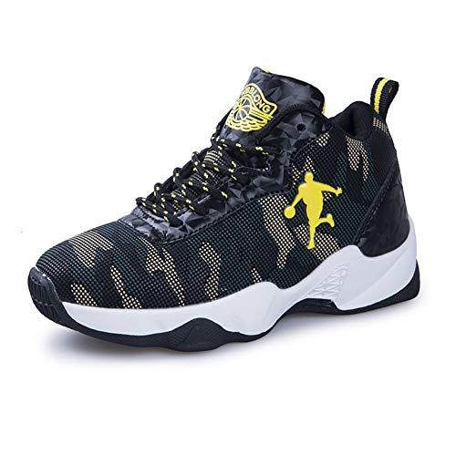 DAYATA C8021 - Zapatillas de Baloncesto de Piel Sintética para ...
