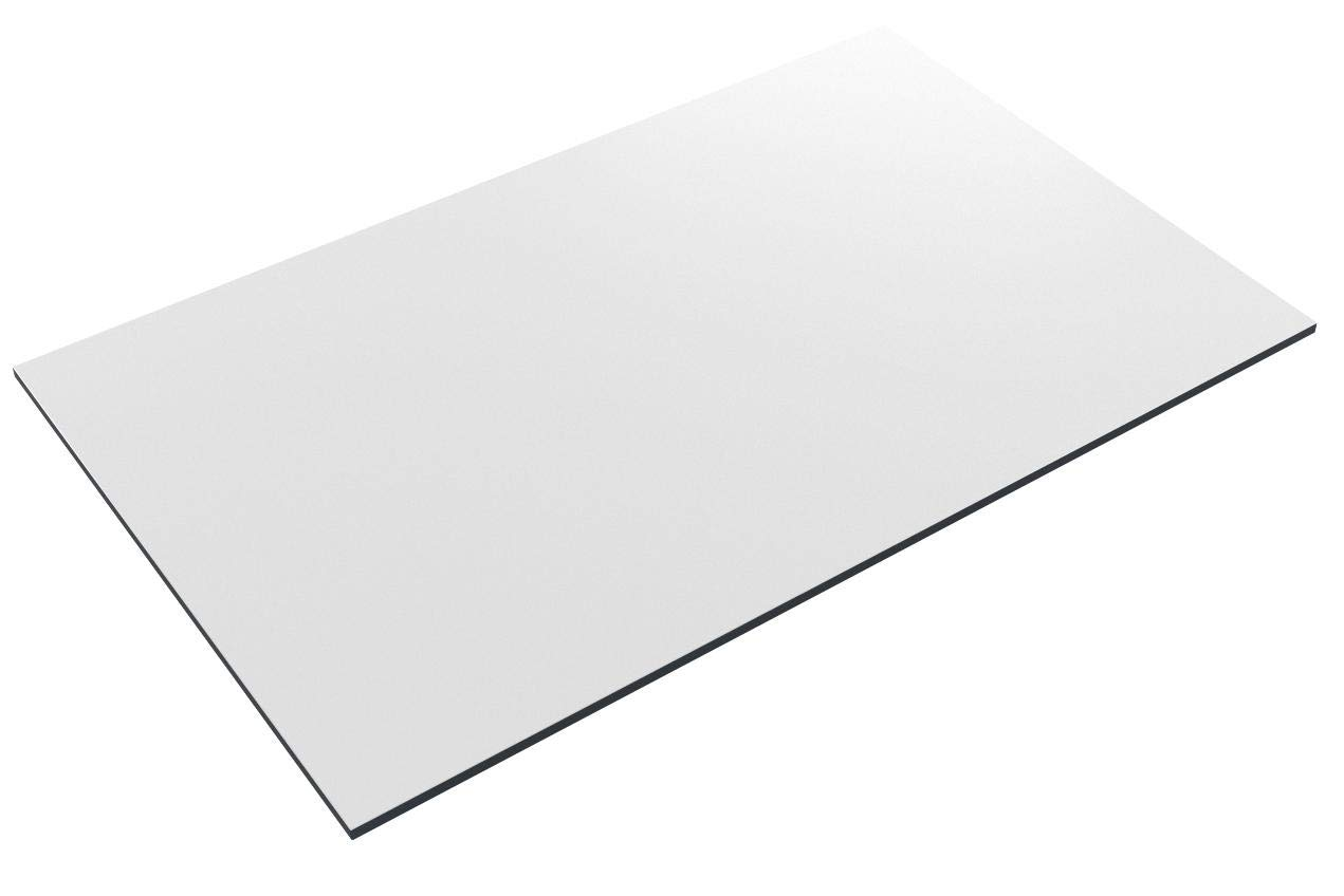 Safco Products PlanMaster Drafting Table Top, 60''W x 37 1/2''D for use with Table Base Model 3957, sold separately, White by Safco