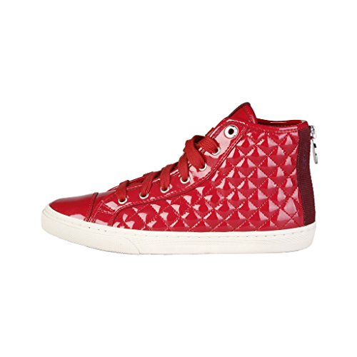 Donna Collo Alto Sneaker A Geox Clud New Rosso yOYqwcHCfB