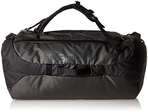 Osprey Packs Transporter 130 Expedition Duffel, Black, One Size by Osprey
