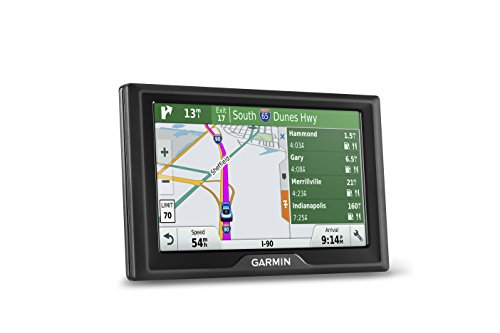 Garmin Drive 50 USA LMT GPS Navigator System with Lifetime Maps and Traffic, Driver Alerts, Direct Access, and Foursquare data (Garmin Live Traffic)