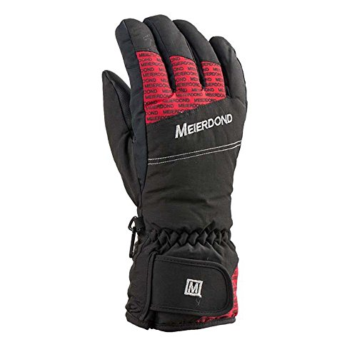Glumes Waterproof Windproof Men Women -30℃ Ski Gloves Winter Warm Snowboard Snowmobile Cold Weather Gloves Suitable ()