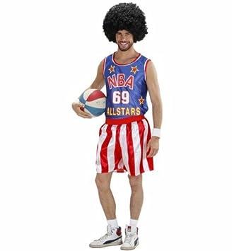 Disfraz All Star jugador de baloncesto Estados Unidos Player atletas Camiseta de basket Camiseta: Amazon.es: Juguetes y juegos