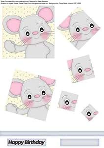 Macho ratón espiral Pyramid por Sarah Edwards