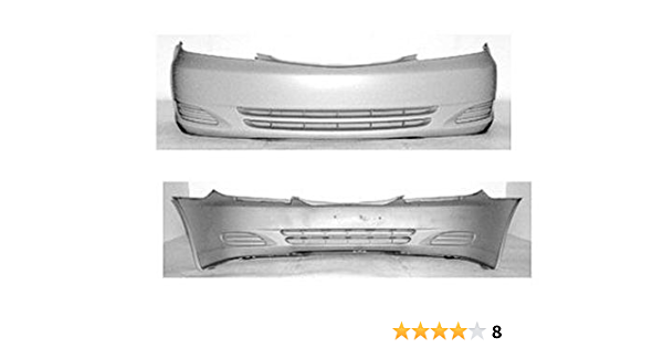 52119AA904 TO1000230 Set of 2 Bumper Covers Front /& Rear for Toyota Camry Pair