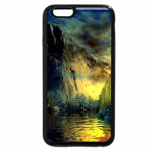 iPhone 6S / iPhone 6 Case (Black) Beautiful Fantasy Nature