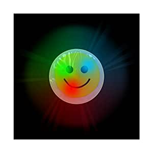 Amazon.com: Flashing Light Up Emoji Smiley Face Sticker (12 Pack)