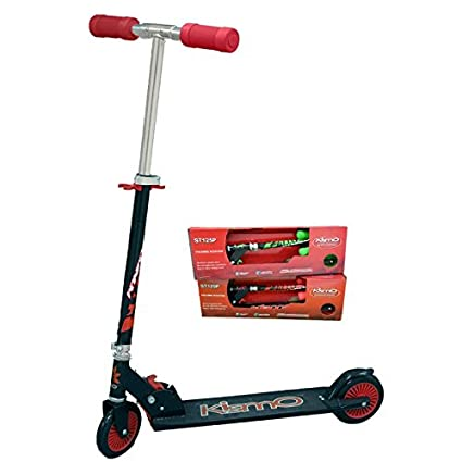 Amazon.com: kismo Kick Scooter (Rojo/Negro): Sports & Outdoors