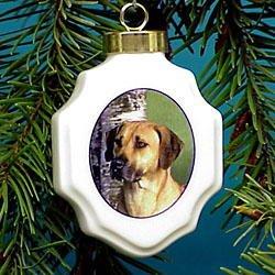 Christmas Ornament: Rhodesian Ridgeback ()