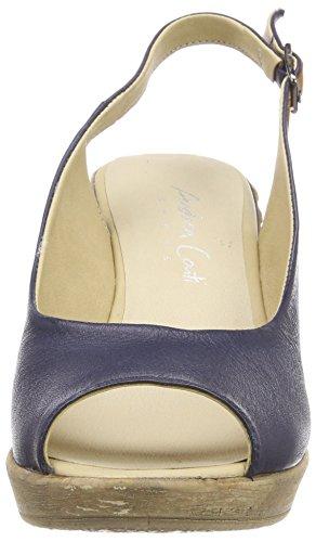 Blue Dunkelblau Conti Sandals Heels 017 1675710 WoMen Andrea qwXB6xFYY