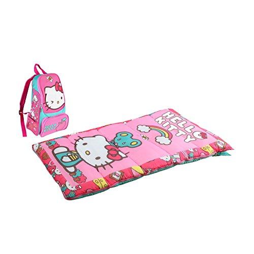 Disney Hello Kitty Adventure Kit (Hello Kitty Kids Sleeping Bag)