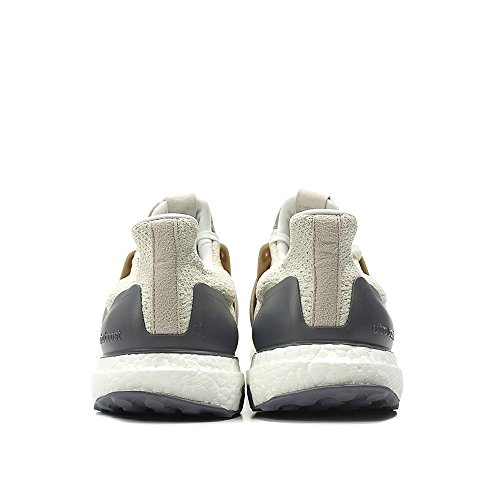Adidas Consortium Men Ultraboost Lux (bianco / Vintage Bianco / Cioccolato Marrone) Vintage Bianco, Marrone Cioccolato