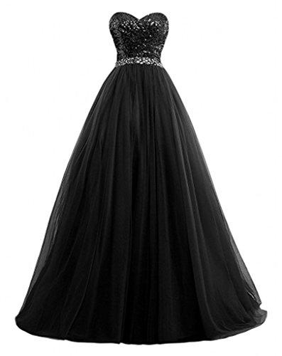 Marie Schwarz A Glamour Abiballkleider Promkleider La Tuerkis Lang Braut Abendkleider Herzausschnitt Rock Linie Dunkel 6qxHwF1dO