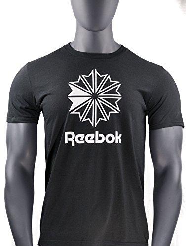 Reebok Short Sleeve 60/40 Classic Black Unisex T-Shirt Reebok Classic T-shirt
