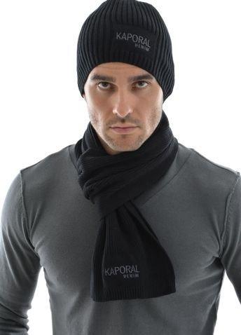 Kaporal 5 , Echarpe Kaporal 5 bonnet+echarpe noir , Taille TU Amazon.fr  Vêtements et accessoires