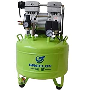 Greeloy dental 800 w compresor de aire silencioso sin for Compresor de aire silencioso