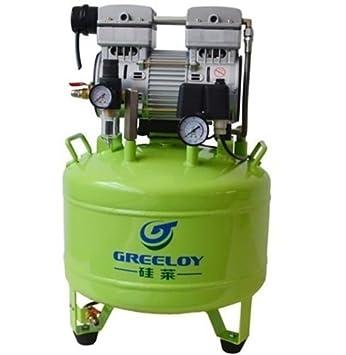 greeloy Dental 800 W Compresor De Aire Silencioso Sin Aceite ga-81 con secador de aire sistema de Ferrari: Amazon.es: Salud y cuidado personal