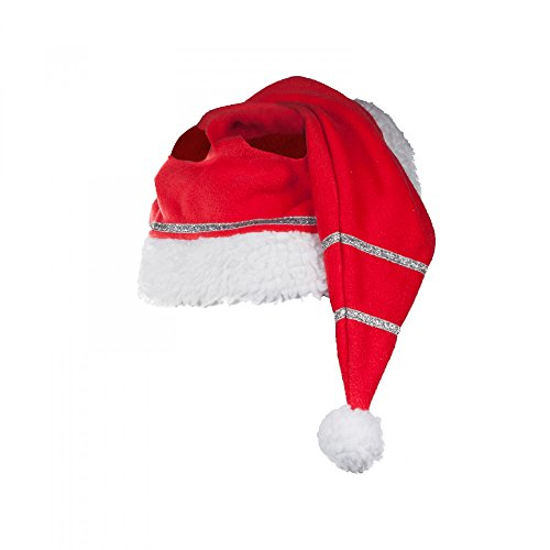 Horze Christmas Horse Cap, Red, One Size