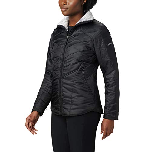 Columbia Women's Kaleidaslope II Jacket, Black, Medium (Womens Columbia Omni Heat Jacket)