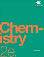 Chemistry 2e by OpenStax (cover may vary)