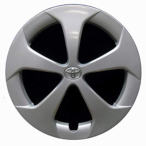 OEM Genuine Toyota Wheel Cover - Professionally Refinished Like New - 15in Replacement Hubcap Fits 2012-2015 Prius (Cover Wheel Prius)
