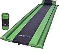 IFORREST Sleeping Pad with Armrest & Pillow - Self inflating Sleeping Pad is Ideal for Camping Hiking Backpacking - Camping Pad - Never let your Arms & Foot feel the Ground - Inflatable Air Mat from IFORREST