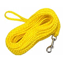 Coastal Pet R3825 G YEL25 .25 in. x 25 ft. Poly Check Cord, Yellow