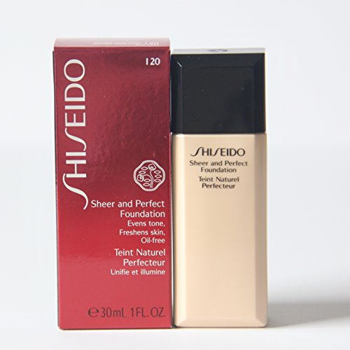 - Shiseido Sheer and Perfect Foundation I20 Natural Light Ivory
