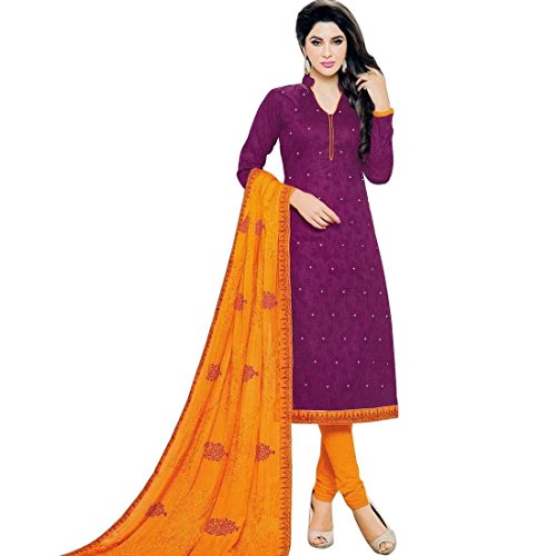 Readymade-Embroidered-Dupatta-Jacquard-Cotton-Salwar-Kameez-Suit