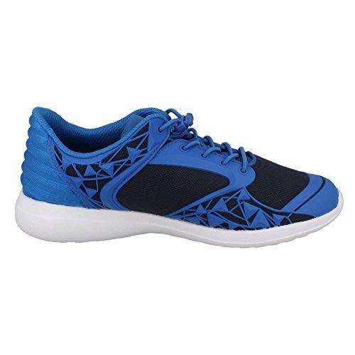 Low Clarks Jnr Sprint Blue Mix Boys' Top Sneakers w8x8FIqr